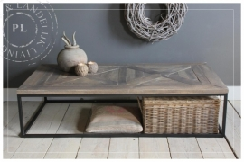 Maatwerk / salontafel /  PERFECTLY / old wood