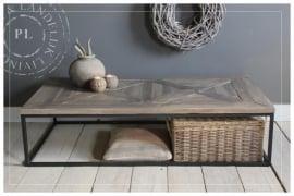 Maatwerk / salontafel /  PERFECTLY / old wood