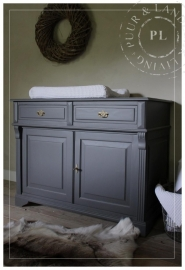Maatwerk / commode / DEEP GREY