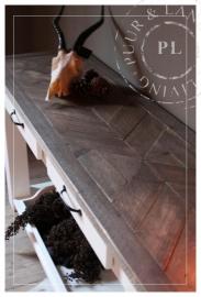 Maatwerk / sidetable / ROYAL / old wood