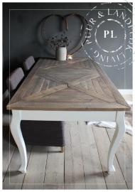 Maatwerk / landelijke eettafel / AFTERNOON / used wood