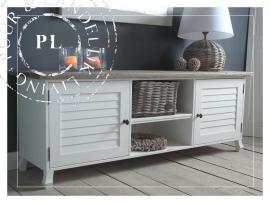 Maatwerk! Landelijk tv meubel- /flatscreenmeubel used wood ~Bush~