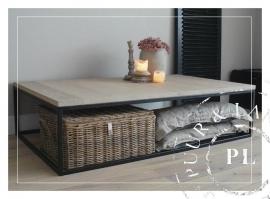 Maatwerk / landelijke salontafel / GRACIEUS / oak