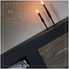 Maatwerk / stoer tv meubel / PURE BLACK 2.0