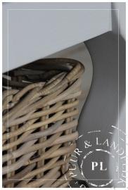 Maatwerk / landelijke salontafel / SUBLIEM / soft grey