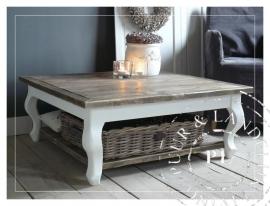 Maatwerk /  Landelijke salontafel Queen Ann Chic / Robuust