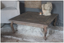Maatwerk / salontafel COZY / old wood