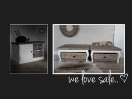 - We love sale - mooie items voor mooie prijsjes