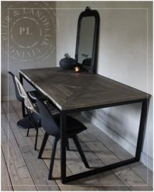 Maatwerk / eettafel PERFECTLY / old wood
