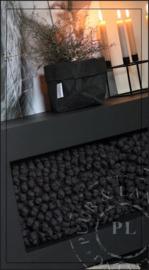 Maatwerk / stoer tv meubel PURE BLACK