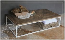 Maatwerk / landelijke salontafel / PERFECTLY white
