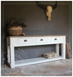 Landelijke sidetable / OLD STYLE / used wood