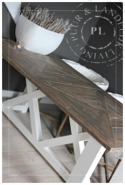 Maatwerk / landelijke eettafel / DOUBLE XX / old wood