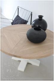 Maatwerk salontafel SOLO CASTLE eiken top