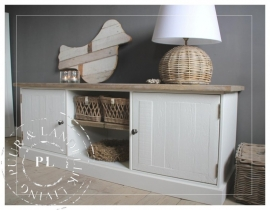 Maatwerk! Landelijk tv meubel- /flatscreenmeubel used wood ~Sunshine~
