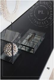 Maatwerk tv meubel / BLACK OAK TOP / eiken zwart