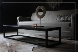 Stoere chique salontafel / eiken / black (ook andere kleuren)