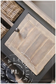 Maatwerk / tv meubel / Queen Ann / OLD WOOD / SOFT BLACK