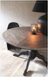 Stoere landelijke eettafel ROUND / Old wood