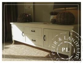 Maatwerk!  landelijk tv meubel / flatscreenmeubel Queen Ann
