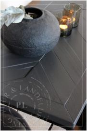- Maatwerk / industriele salontafel PERFECTLY visgraad