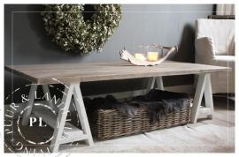 Maatwerk / landelijke salontafel / DAWN / old wood