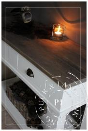 Maatwerk / landelijke sidetable / OLD STYLE / used wood