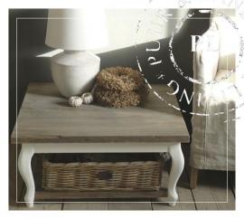 NEW NEW landelijke salontafel  old wood drifwood queen ann CHIC