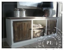 Maatwerk! Landelijk dressoir / tv meubel old wood