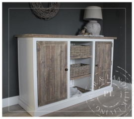 Maatwerk / tv meubel / dressoir / old wood 3 vaks