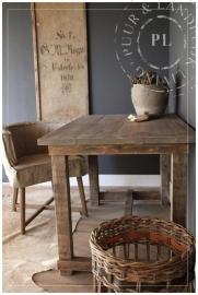 Maatwerk / landelijke tafel / OLD WOOD / KITCHEN