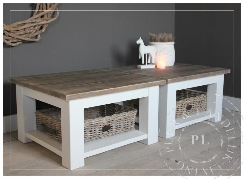 Maatwerk / landelijke salontafel / VALENCIA / old wood