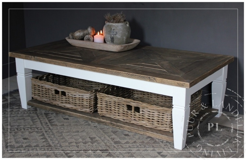 Maatwerk / salontafel / SUMMER/ old wood