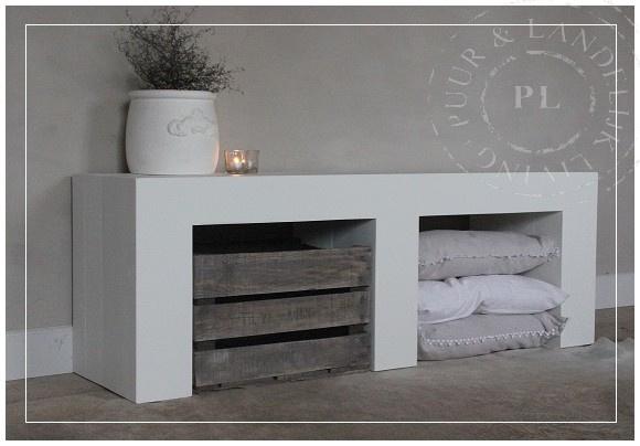 Maatwerk / tv meubel / PURE WHITE