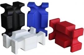 Hindernisblok Kunststof in div. kleuren