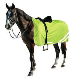 Reflecterende veiligheidsdeken voor paarden