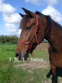 F.R.A. Knoophalster BABIA maat Pony kleur A bont OP=OP