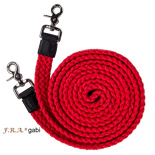 F.R.A.® Gabi plat geweven luxe touwteugel