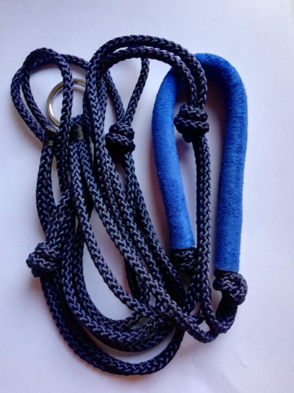 Freestyle halster blauw maat XS