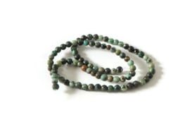 """NST.3 - JASPIS """"NATURAL AFRICAN TURQUOISE"""" / 4MM"""