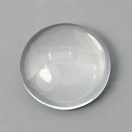 TB.206 - GLAS CABOCHON TRANSPARANT / 8MM