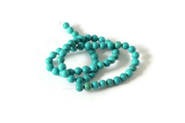 """NST.16 - TURKOOIS """"NATURAL TURQUOISE"""" GROEN / 6MM"""