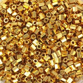 KR-MIDEC 11-31 - MIYUKI CUT DELICA'S  24KT GOLD PLATED