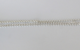 BALL CHAIN - KETTING ZILVER / 2,5MM