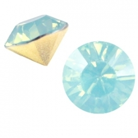 "SS39 - PUNTSTEEN ""LIGHT GREEN TURQUOISE OPAL"" / 8MM"