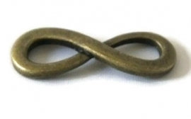 TH.48 - INFINITY TUSSENZETSEL - BRONS / 34 x 13 x 4MM