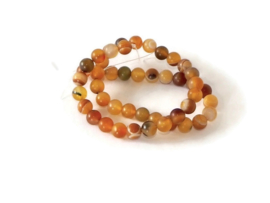 "NST.153 - SARDONYX ""NATURAL FROSTED"" / 8MM"