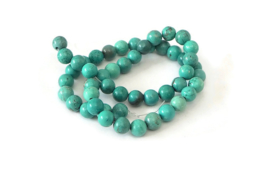 """NST.68 - TURKOOIS """"NATURAL TURQUOISE"""" GROEN / 8MM"""