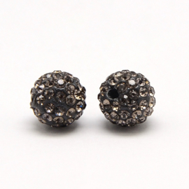 STR - RHINESTONE STRASS KRALEN BLACK DIAMOND / 6MM