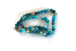 """NST - AGAAT """"NATURAL DYED"""" BLAUW / 6MM"""